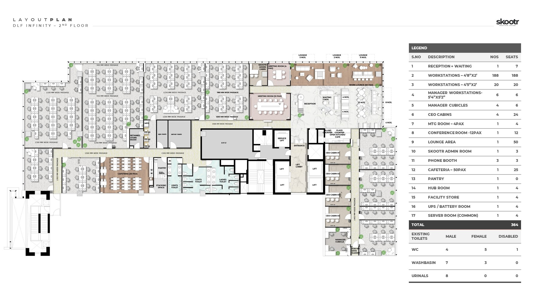 Infinity Tower A Layout Plan