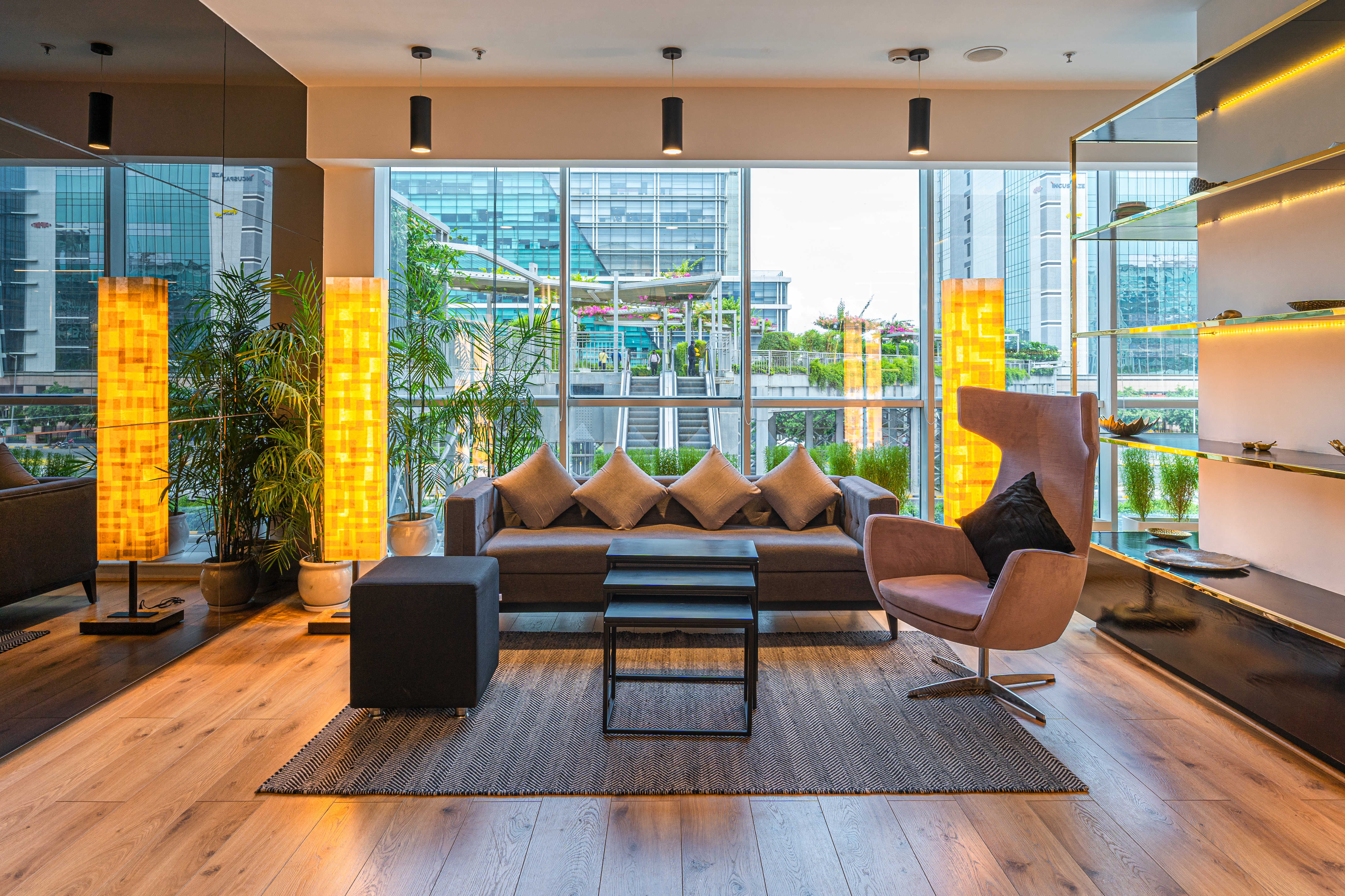 Infinity Tower A lounge