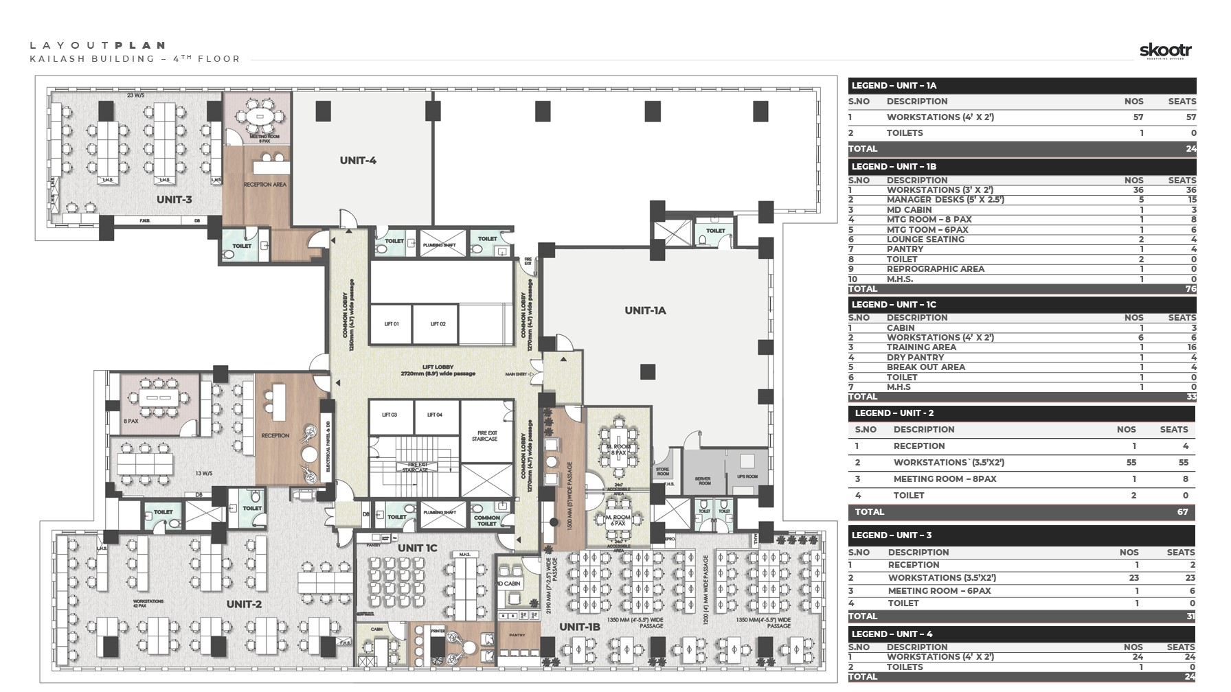 CP Office Layout Plan