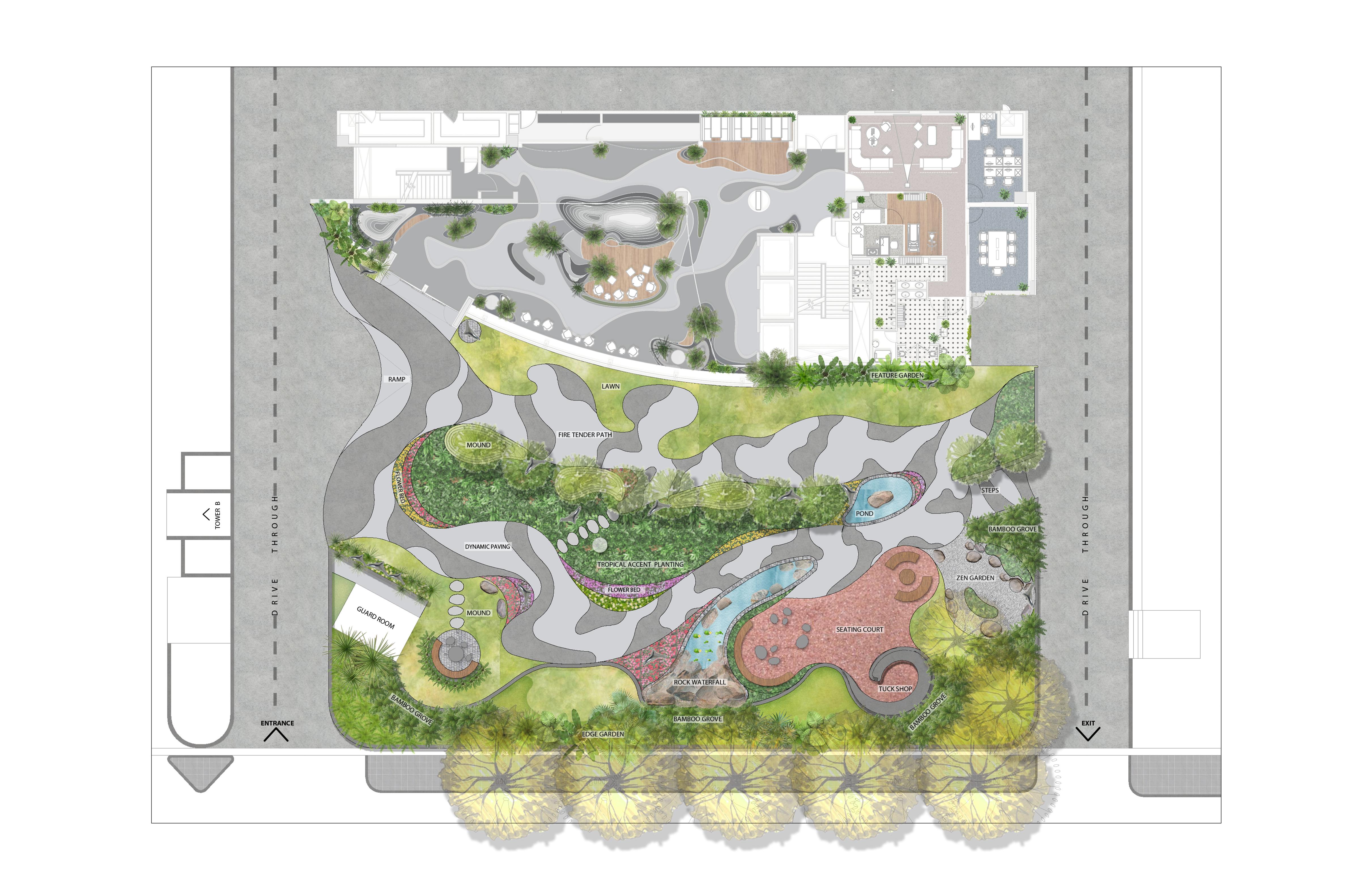 RMZ Futura Layout Plan