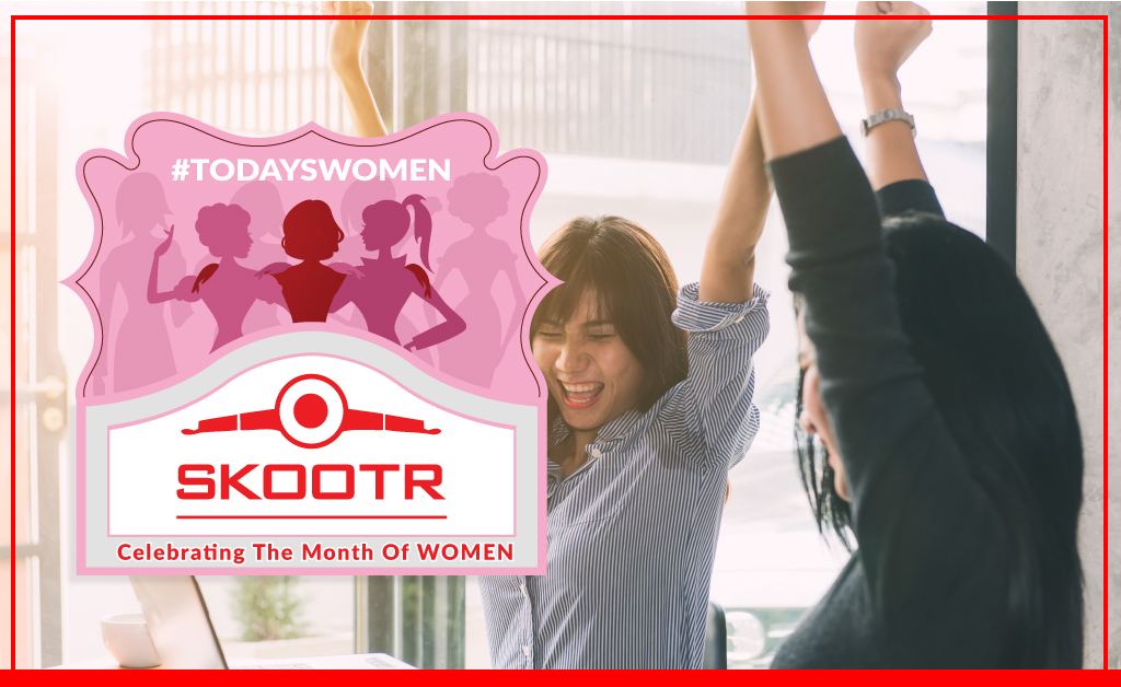 Skootr Celebrates Month of Women